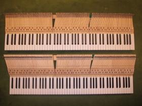 鍵盤巾が全体では9cm狭くなります。