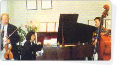 ホーカン・ボルジェソン(スウェーデン)ジャズヴァイオリン&ケイコ・マクナマラ ジャズピアノ