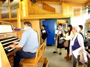 ドイツ国立楽器専門学校見学