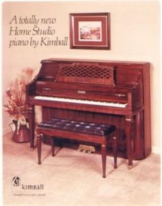 アメリカ代表的キンボールピアノ