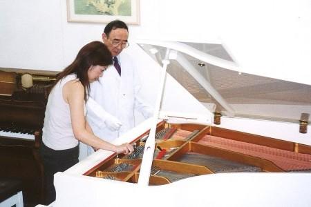 ピアノ調律実技