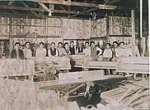 創業時の東京蒲田工場