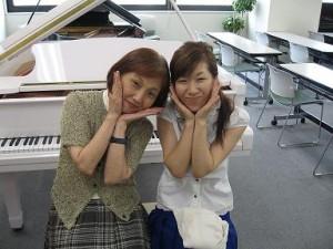 ヤマハ演奏グレード5級合格者と講師