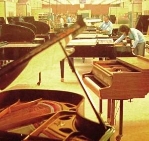 ドイツのピアノ製作会社