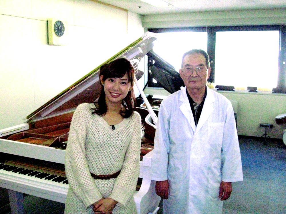 フジテレビ山崎アナウンサーと当学院講師