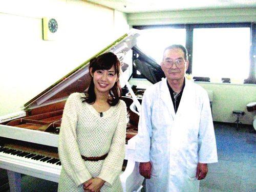 フジテレビ山崎アナウンサーと当学校講師